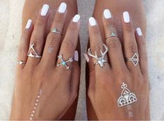 """Search: 10 results found for """"stacking"""" – Made4Walkin Perfect Together, Three Rings, Stacking Rings, Turquoise Stone, Antlers, Round Sunglasses, Engagement Rings, Boho, Purple"""
