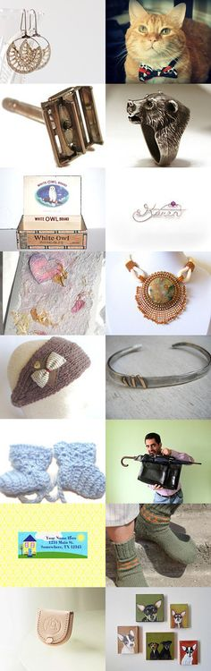 Gifts for him and her by Valerie Brown on Etsy--Pinned with TreasuryPin.com  https://www.etsy.com/shop/FirepanJewellery