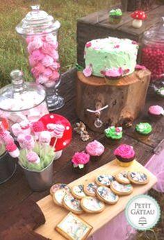Fairy woodland party by Petit Gateau