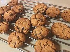Flourless Peanut Butter - Chocolate Chip Cookies