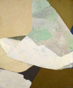 Kenzo Okada (Sep. 28, 1902 - 1982): To Point, 1962 - oil on canvas (Smithsonian)