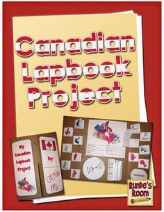Canadian Lapbook Project - Canada's Provinces and Territories $