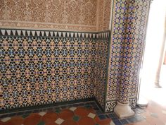 You would think that layering all of these patterns together in one space would be unsettling, but somehow the builders of the Alhambra made it all work.