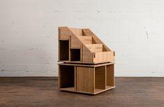 Hi Phile Record Cabinet: Das Plattenregal zum Zusammenstecken - unhyped. Shelf Bins, Storage Shelves, Record Cabinet, Vinyl Record Storage, Display, Album, Interior, Furniture, Crafts
