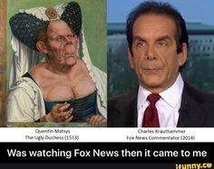 Was watching Fox News then it came to me