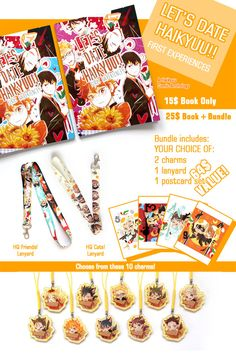 Let's Date Haikyuu A Haikyuu Comic Anthology by Marisstore on Etsy