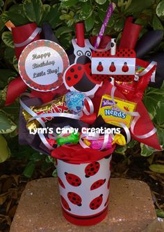 Ladybug Kids Candy Party Favors by LynnsCandyCreations on Etsy, $4.99