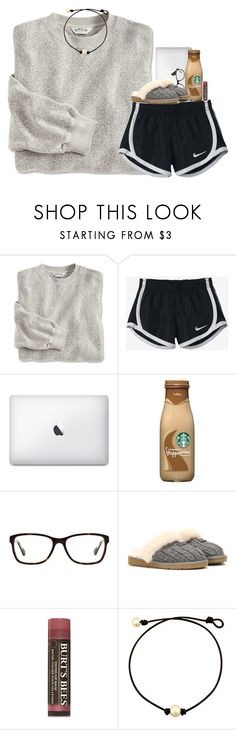"""""I'd lose weight but I don't like to lose"""" by pineappleprincess1012 ❤ liked on Polyvore featuring NIKE, Coach, UGG Australia and Burt's Bees"