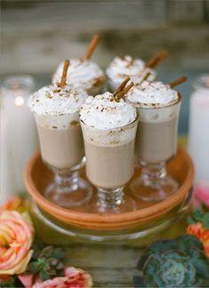 Согреваемся: какао и шоколадный бар на зимней свадьбе - The-wedding.ru