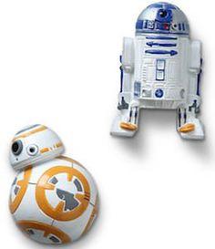 Star Wars BB-8 And R2-D2 Fridge Magnet Set