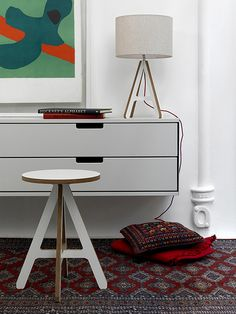 ByALEX by decor8, via Flickr.Love the simple lines and whimsy.