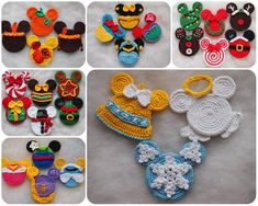 Red Belle Bow disney princess belle bow Beauty and the Beast Minnie Mouse Christmas, Mickey Minnie Mouse, Mickey Head, Disney Christmas, Disney Ornaments, Crochet Christmas Ornaments, Crochet Gifts, Crochet Hooks, Winnie The Pooh