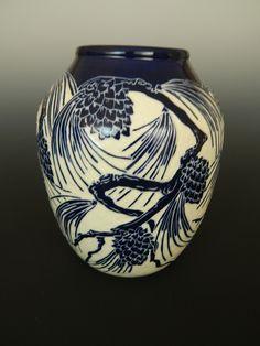 Pinecone vase