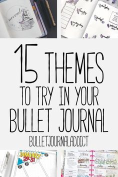 Bullet Journal Themes and Ideas - Bullet Journal Ideas for Monthly Themes - 15 T. - Bullet journal İdeas in 2019 How To Bullet Journal, Bullet Journal Monthly Spread, Bullet Journal Printables, Bullet Journal Notebook, Bullet Journal Layout, Bullet Journal Ideas Pages, Bullet Journal Inspiration, Bullet Journals, Journal Prompts