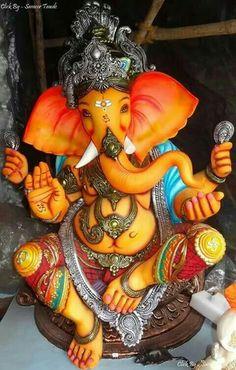 Jai Ganesh, Ganesh Lord, Shree Ganesh, Ganesh Statue, Ganesha Art, Lord Krishna, Ganesh Ji Images, Ganesha Pictures, Ganesh Chaturthi Images
