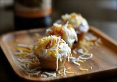 Bacon Beer and Cheese Cupcakes