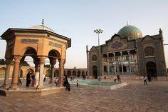 Shazdeh Hosein shrine in Qazvin, Iran.
