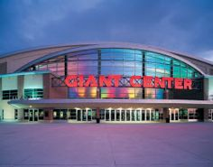 Giant Center - Hershey, PA  Going to Joyce Meyer Conferences with my friends and daughters-in-law!