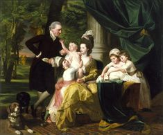 1778 Sir William Pepperrell and His Family by John Singleton Copley