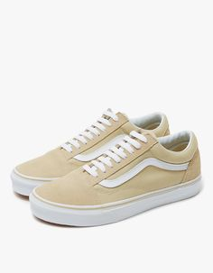 fa747fc40d Old Skool in Pale Khaki White