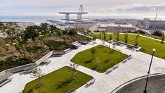 Hunters Point | Hillpoint Park - CMG Landscape Architecture San Francisco Bay, Central Park, Hunters, Landscape Architecture, Parks, Landscape Design, Parkas, Landscape Art