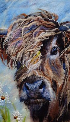 Before the Storm Highland Cow Painting, Highland Cow Art, Animal Paintings, Animal Drawings, Art Drawings, Bull Painting, Cow Pictures, Sheep Art, Tole Painting Patterns