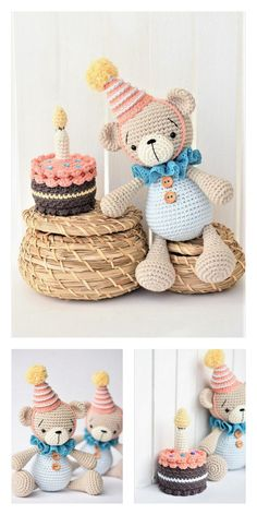Trying to find some craft ideas which you could quickly make with things close to your house? Listed below are five Little ones craft ideas! Crochet Teddy Bear Pattern, Crochet Amigurumi Free Patterns, Crochet Geek, Crochet Blanket Patterns, Crochet Dolls, Drops Design, Tutorial Amigurumi, Amigurumi Doll, Stuffed Toys Patterns