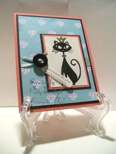 Still Cool After All This time by pattyb - Cards and Paper Crafts at Splitcoaststampers Cool Cat NEXT