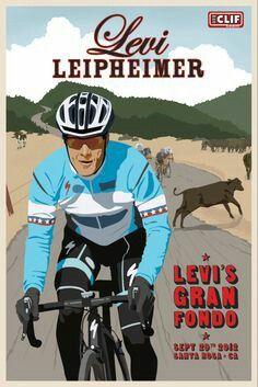 Levi Leipheimer Clif Bar Poster