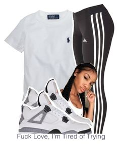 """""""#13"""" by brianna-pina ❤ liked on Polyvore featuring Ralph Lauren, adidas and Retrò"""