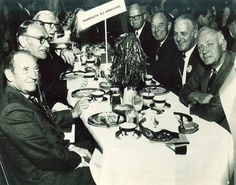 1969 University of Minnesota Homecoming Pepfest Luncheon photo of MN All-Americans