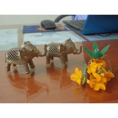 This is the best elephant designed #Dhokra. It is best for decor in your officeroom.