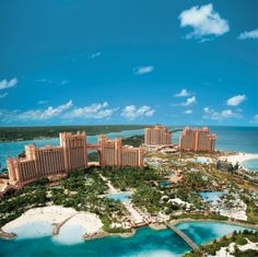 Atlantis in Nassau, Bahamas A place to get away for one week vacay.  Can't wait!!!