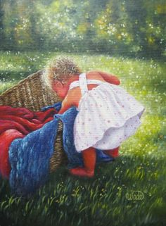 Laundry Day ~ by Vickie Wade