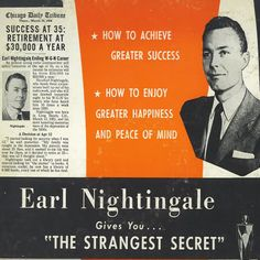 Quotes By Earl Nightingale The Strangest Secret