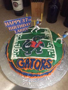 Florida Gators Birthday Cake. https://www.facebook.com/CakeDivaDenise