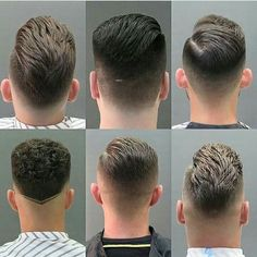 Back of head men's haircut reference Mens Hairstyles With Beard, Hair And Beard Styles, Hairstyles Haircuts, Short Hair Styles, Cool Haircuts, Haircuts For Men, Gents Hair Style, Hair Cutting Techniques, Men Hair Color