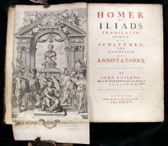 The Iliads of Homer Ogilby 1669 49 Plates Folio Iliad English Complete Hollar NR