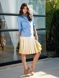 Kleid - Zwei-Teiler-Look 111 0712 B