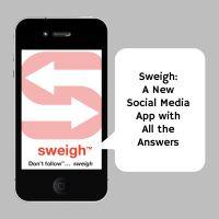 #Sweigh: A New Social Media App with All The Answers!  #BestNewApp www.sweigh.com Medium App, Social Media, News, Blog, Blogging, Social Networks, Social Media Tips