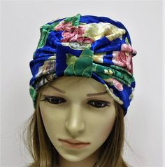 Top knot turban hat for women, stretchy turban, velvet women's turban, floral turban, elegant turban, retro style hat by accessoriesbyrita on Etsy Bad Hair Day Hat, Stretchy Headbands, Turban Hat, Black Headband, Head Accessories, Scarf Hairstyles, Top Knot, Retro Style, Hats For Women