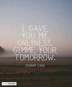 I Walk the Line - Johnny Cash Johnny Cash Lyrics, Johnny Cash Tattoo, Johnny Cash Quotes, Country Lyrics, Country Music Quotes, Country Singers, Johnny And June, Whatever Forever, Lyric Tattoos