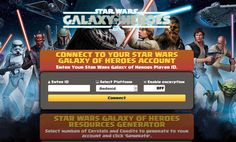 Star Wars Galaxy of Heroes Hack Cheats Unlimited – Games Cheats Star Wars Galaxy of Heroes Mod Apk (Endless Credits, Crystals and Energy+) Star Wars Galaxy of Heroes Hack Credits, Crystals and Energy Cheats [Online … Star Wars Galaxy of Heroes MOD APK 1.2.0 (Unlimited Credits, Crystals and Energy, … Star Wars Galaxy of Heroes …