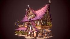 3D portfolio, Rinsil Park on ArtStation at https://www.artstation.com/artwork/q2rDN