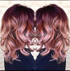 Messy, Curly Haircuts for Medium Length Hair - Ombre, Balayage Hair Styles