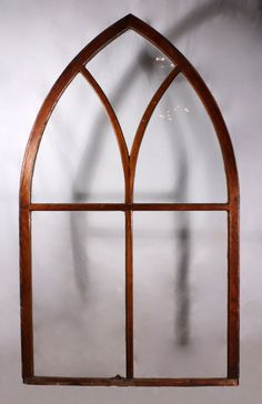 525 Vintage Iron Arched Top Palladian Window Frame