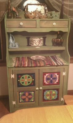 Repurposed hutch I just finished :)