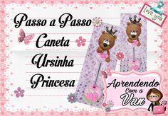 (DIY) PASSO A PASSO CANETA URSINHA PRINCESA COM MOLDE MINI PETS MINI - YouTube