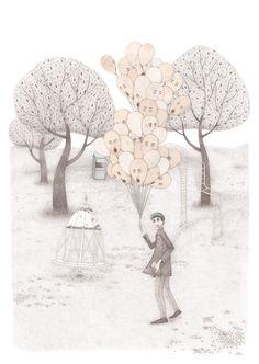 El feriante on Behance Illustration Art, Behance, Draw, Modern, Trendy Tree, To Draw, Sketches, Painting, Tekenen