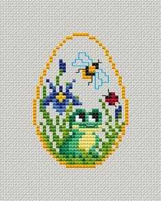 Cross Stitch Cards, Cross Stitching, Cross Stitch Embroidery, Cross Stitch Patterns, Butterfly Cross Stitch, Easter Cross, Back Stitch, Modern Embroidery, Needlepoint